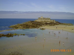St Malo Beach